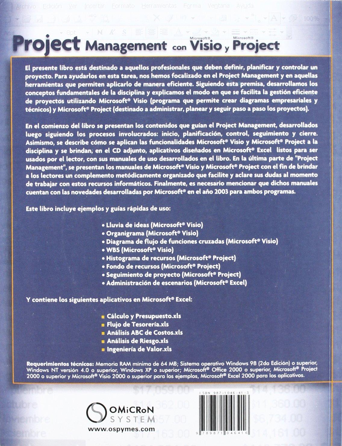 Project management con microsoft visio y microsoft project spanish project management con microsoft visio y microsoft project spanish edition veronica garcia fronti 9789871046416 amazon books ccuart Choice Image