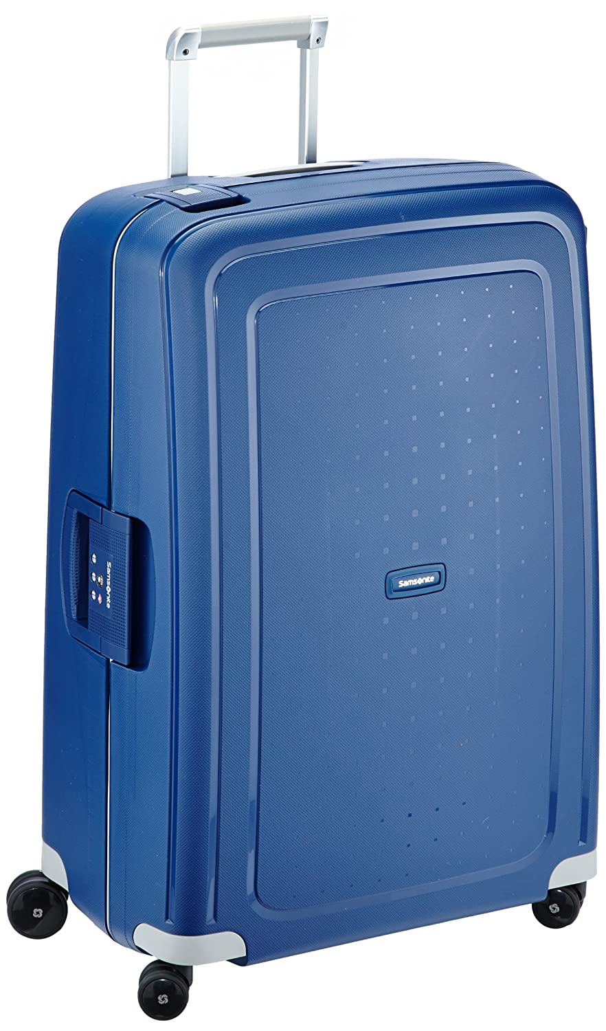 samsonite suitcase 75 cm 102 liters dark blue ebay. Black Bedroom Furniture Sets. Home Design Ideas