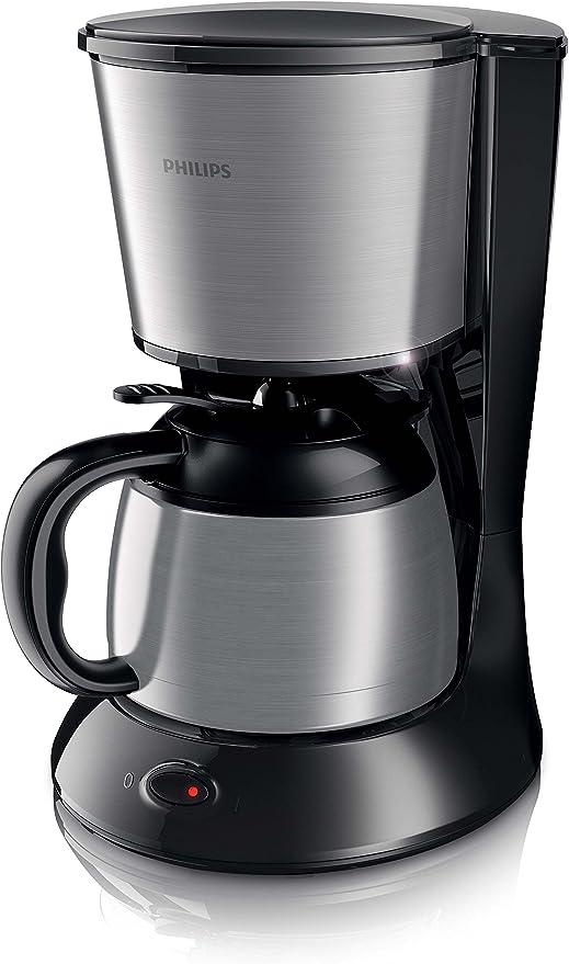 Philips HD7478 - Cafetera de goteo, 1000 W, negro y gris: Amazon ...