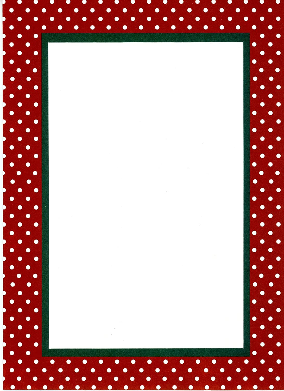 """4 x 6写真挿入ノートカード – 24パックby Plymouthカード 5"""" x 7"""" for a 4"""" x 6"""" print or photo レッド PARENT-COLLECTIONS B076B9XKH6 Christmas Dots Christmas Dots"""