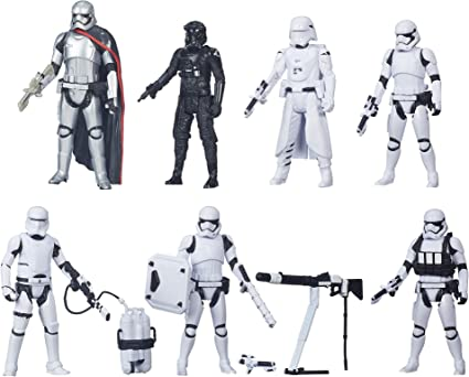 Star Wars The Force Awakens 3.75-Inch Figure Troop Builder 7-Pack ...