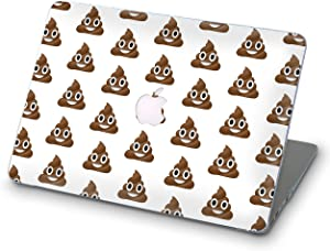 BroStore Poop Emoji MacBook Case Art Designed Protective Cover for Laptop Modern Hard Case (Poop Emoji Pile of Poo iOS, 12-inch (A1534 & MLHC2))
