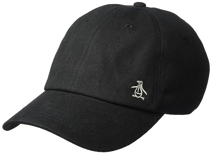 Amazon.com  Original Penguin Men s Twill Logo Baseball Cap 9a0eaa63638a