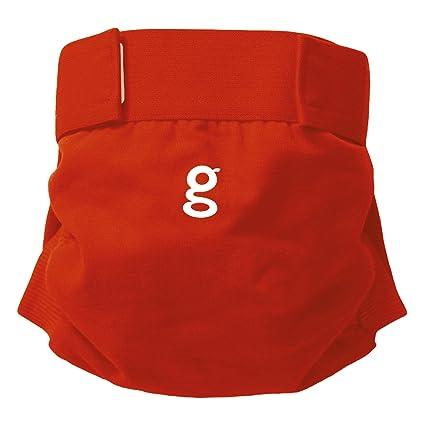 gPants Bragapañal de algodón Pañales Pañal tela - Good Fortune Red / Buena Fortuna Rojo -