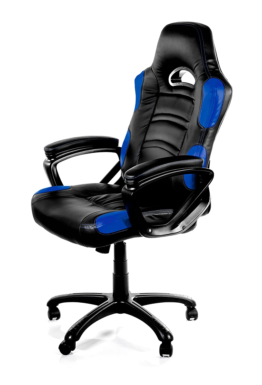 Best computer chair for gaming - Amazon Com Arozzi Enzo Series Gaming Racing Style Swivel Chair Black Blue Kitchen Dining