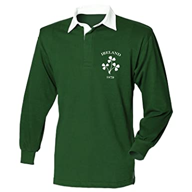 e00f6aa0 Ireland Rugby Jersey - Irish Rugby Shirts Long Sleeve - Mens Gift (Size -  Small