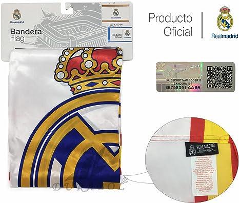Producto Oficial Real Madrid Bandera del Real Madrid 150X100CM ...