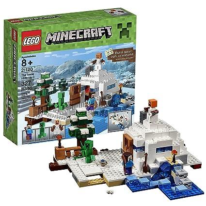 minecraft snow golem lego
