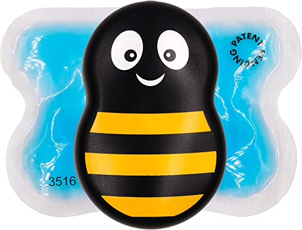 Buzzy Mini - Pain Relief for First aid, injections, Aches, Injuries, and More (Striped)