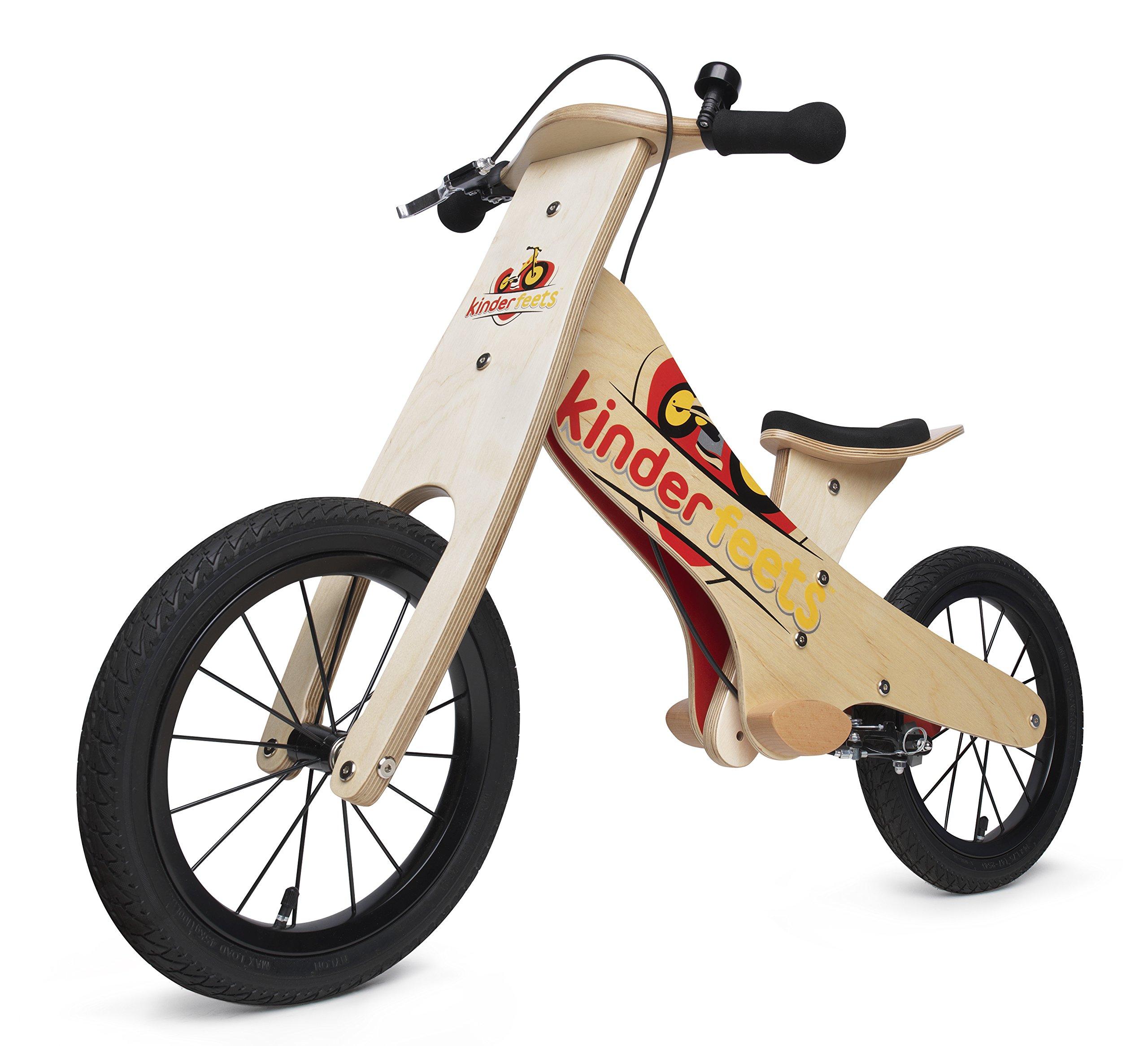 Kinderfeets Super Wooden Balance Bike by Kinderfeets (Image #2)