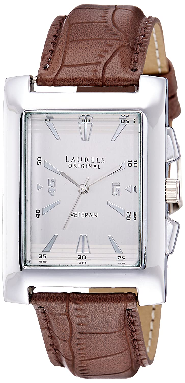 Laurels Imperial 2 Analog Silver Dial Mens Watch - Lo-Imp-201