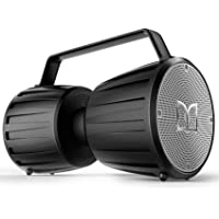 Monster Portable Bluetooth 5.0 Waterproof Speaker with Microphone Input