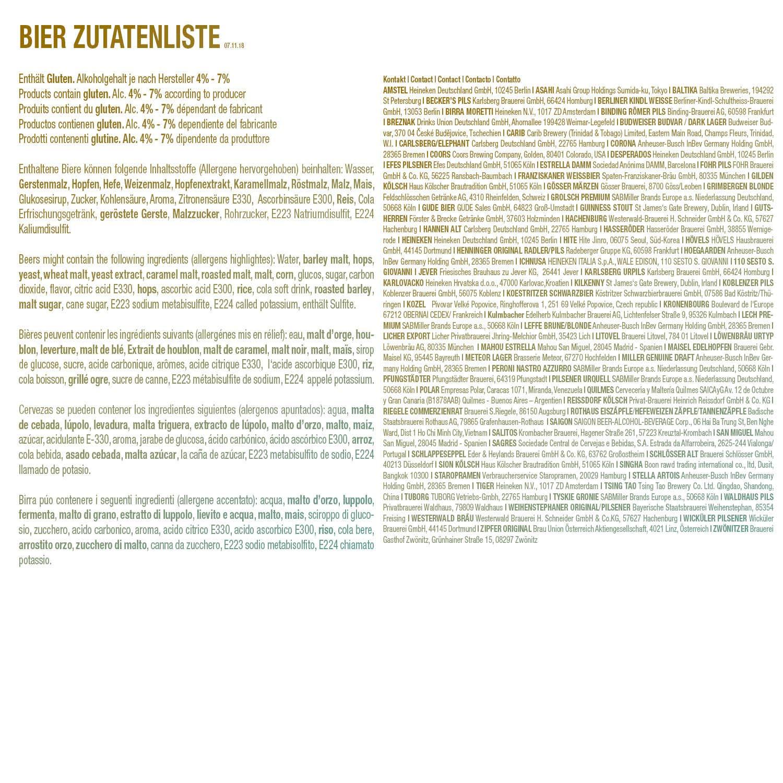 30. Geburtstag Geschenk für Freund - Bier Geschenk Box + gratis ...