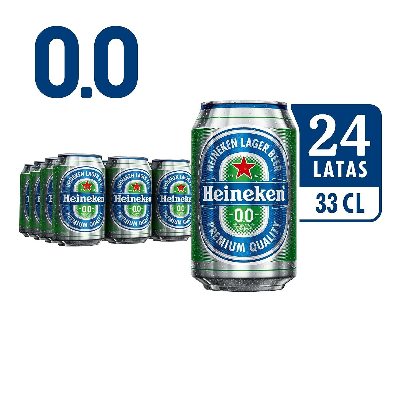 Heineken 00 Cerveza - Caja de 24 Latas x 330 ml - Total: 7920 ml: Amazon.es: Amazon Pantry