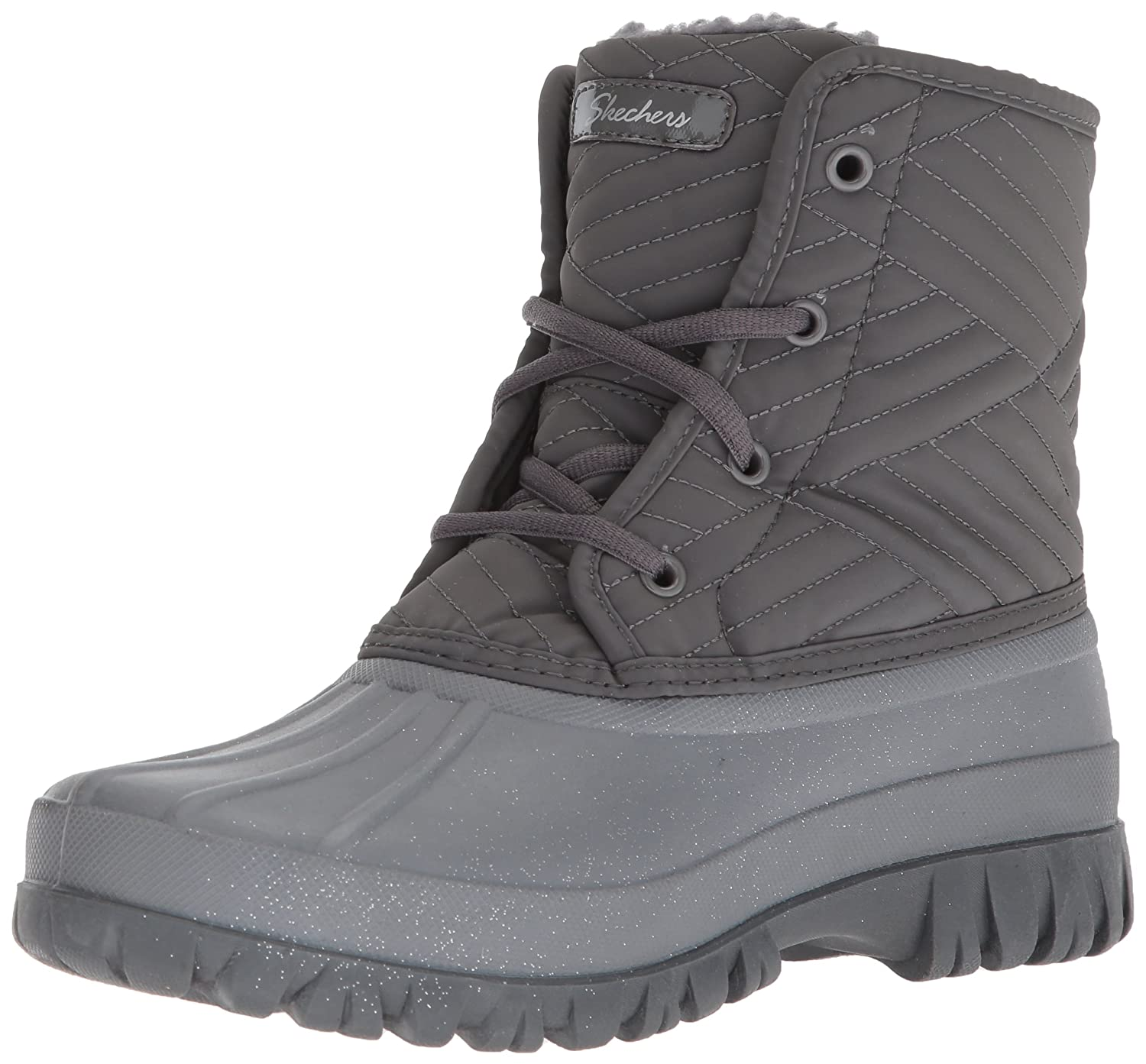 Skechers Women's Windom-Dry Spell Snow Boot B06ZZP4WS6 7 B(M) US|Charcoal