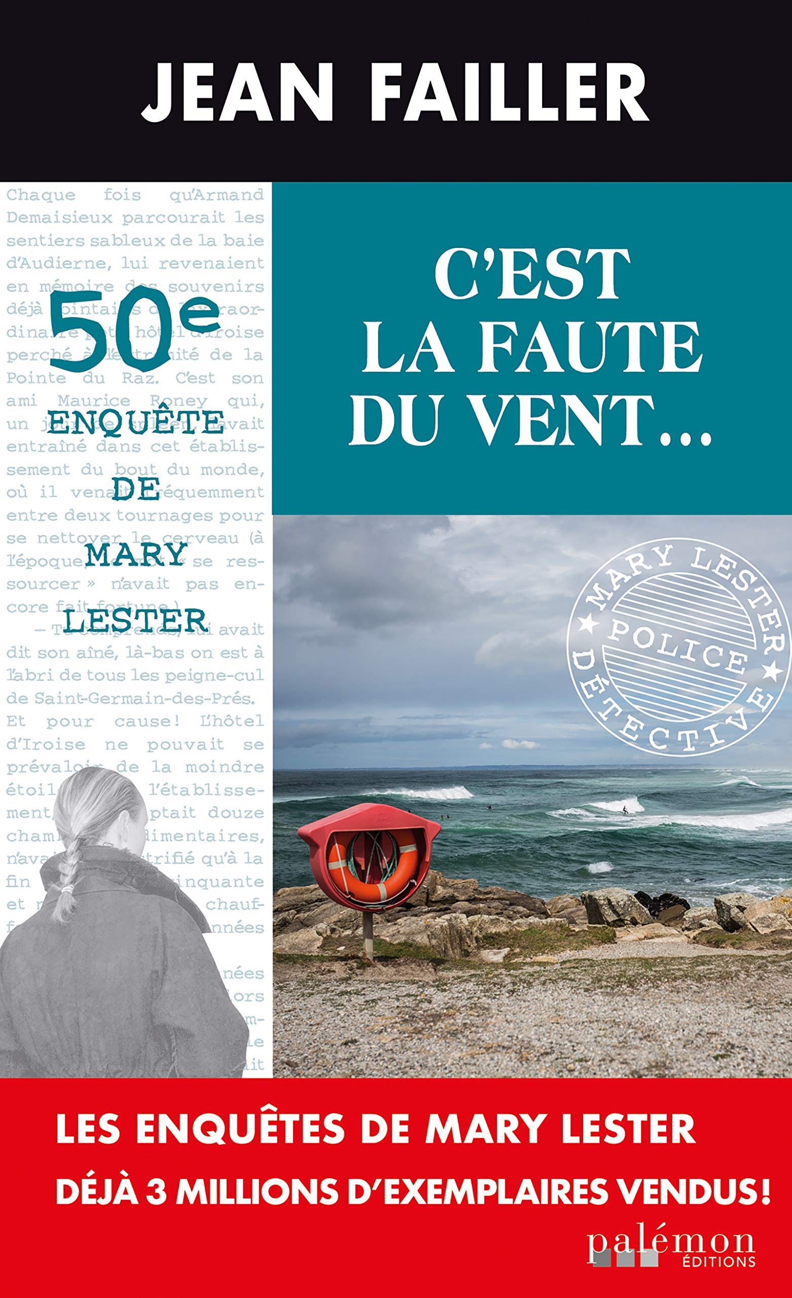 C'est la faute du vent: Un polar en Bretagne por Jean Failler