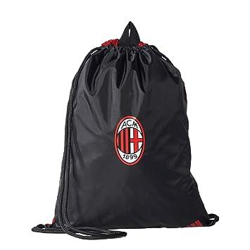 f1ac3b76f4 2017-2018 AC Milan Adidas Gym Bag (Black)