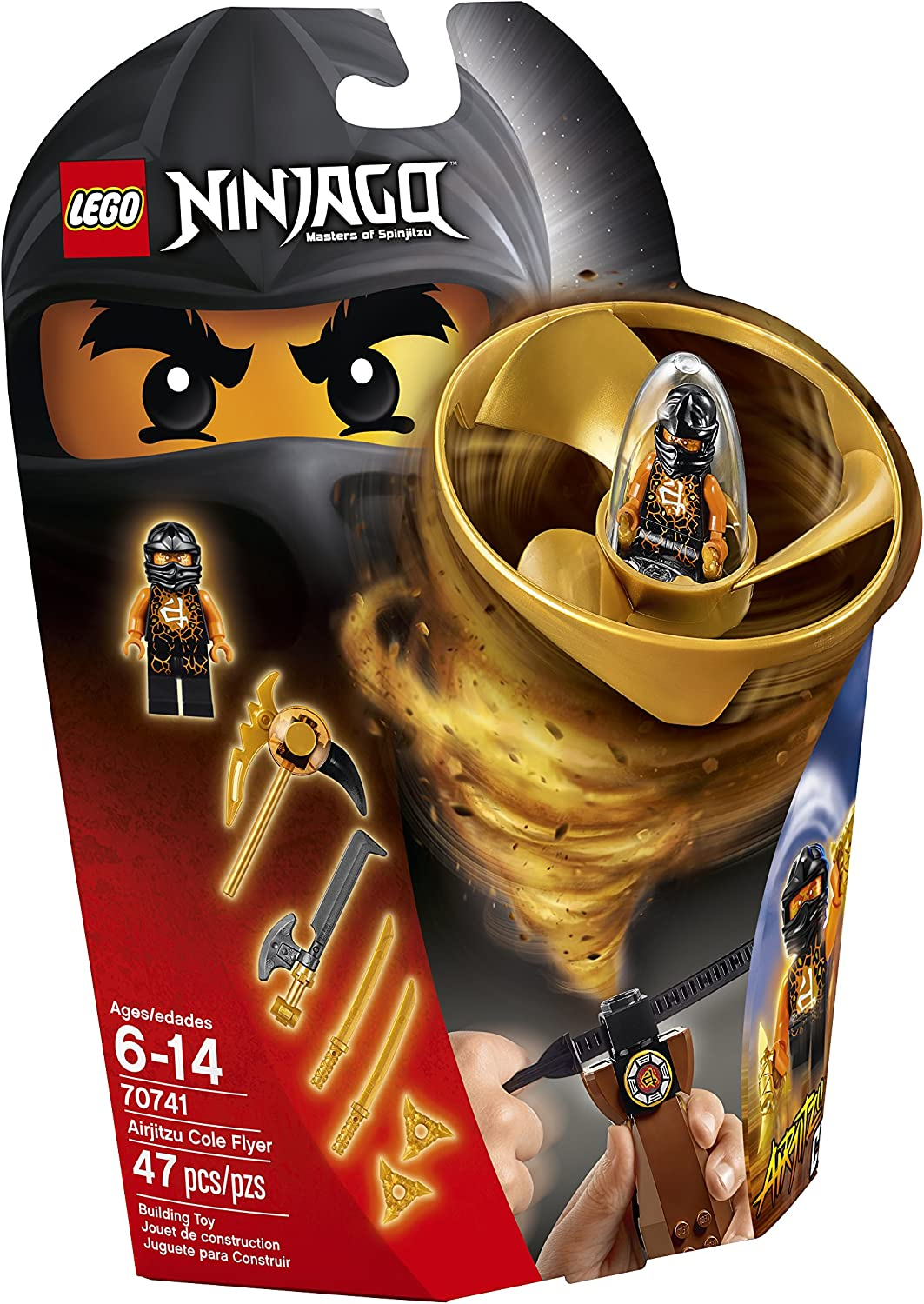 LEGO Ninjago Airjitzu Cole Flyer 70741 Building Kit