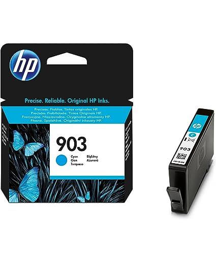 HP T6L87AE 903 Cartucho de Tinta Original, 1 unidad, cian: Amazon ...