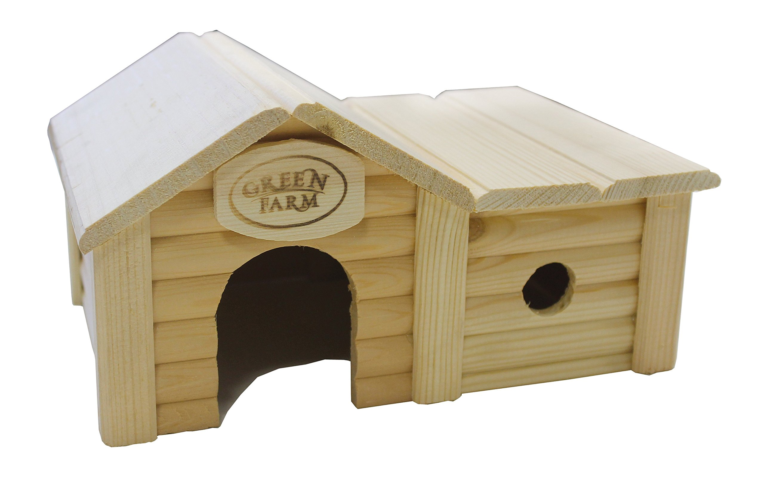 Green Farm Small Animal House with Annex for Hamsters and Mice by Green Farm (Image #1)