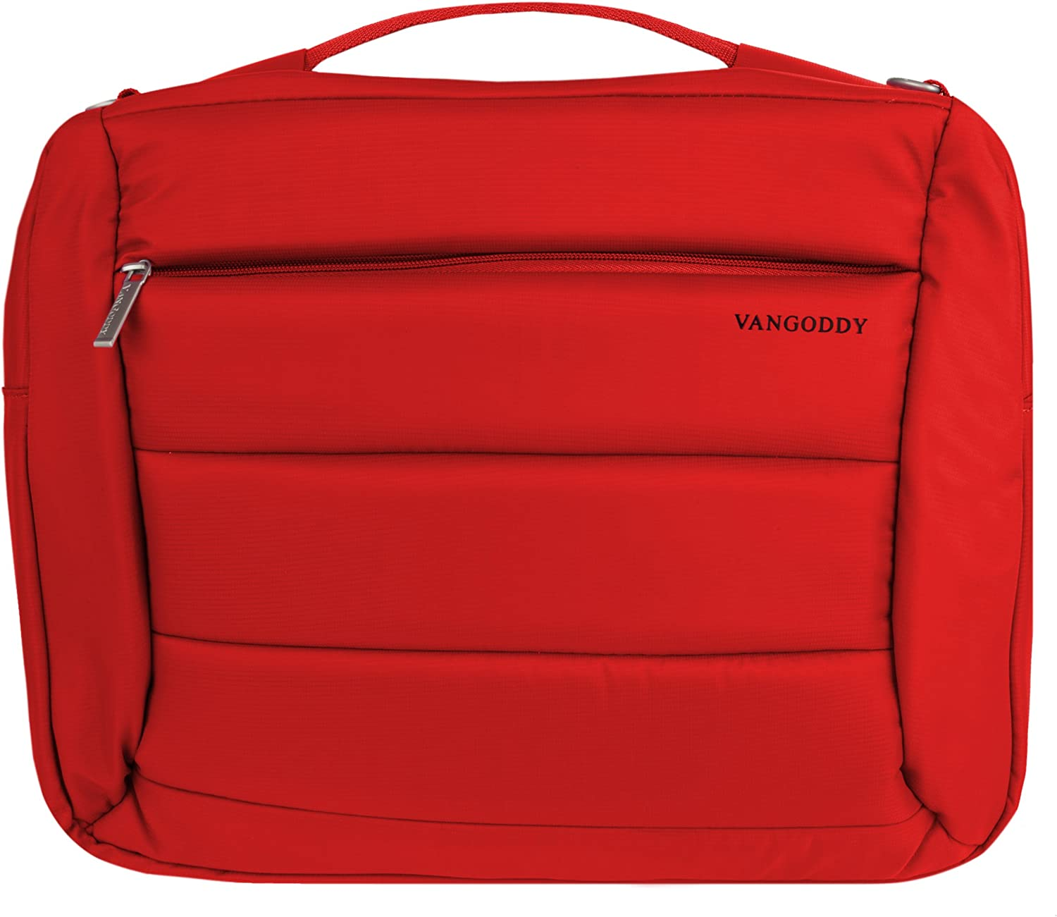Vangoddy 3 in 1 Backpack Messenger and Shoulder Bag for Lenovo Ideapad 300, 300s, 500, Y700, 14 inch to 15.6 inch Laptops