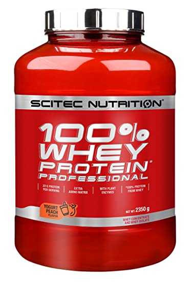Scitec Nutrition Whey Protein Professional Proteína Yogur, Melocotón - 2350 g
