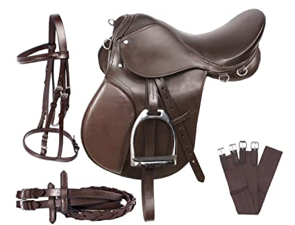 amazon com acerugs 15 16 17 18 all purpose english leather horse rh amazon com