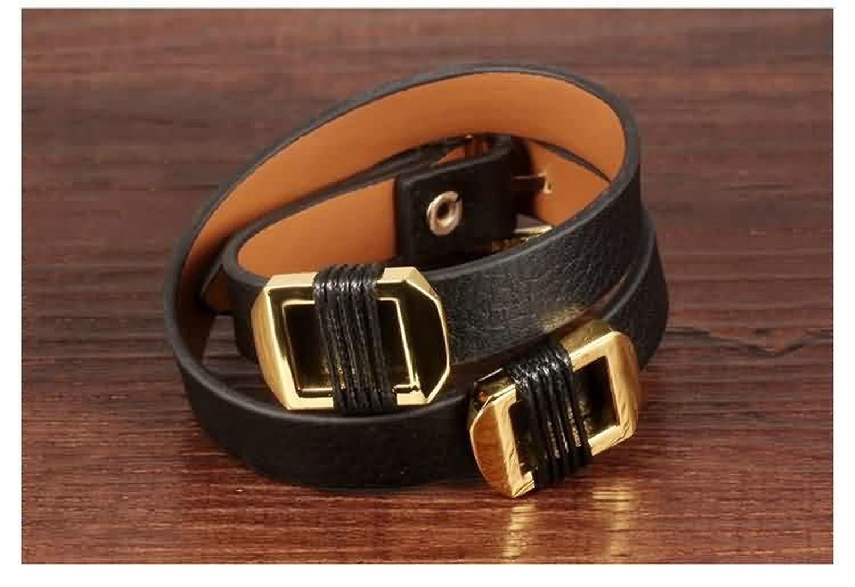 Bangle Bracelet Belt Buckle Gnzoe Men Women Gold Plated Bracelet