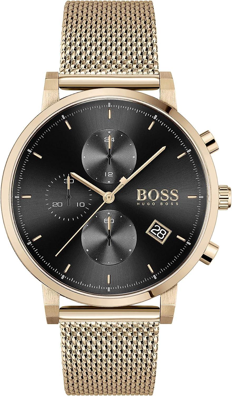 Hugo BOSS reloj Cronógrafo para Hombre de Cuarzo con Correa en Acero Inoxidable 1513808