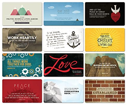 Amazon Bible Verse Magnets Set Of 12 Kitchen Dining