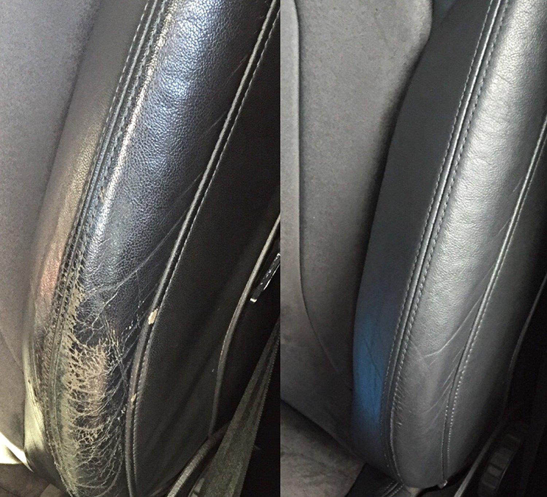 Kit reparació n pintura asiento spallina asiento interior piel vehí culos color gris para Alfa Romeo 60 ml colourcare24