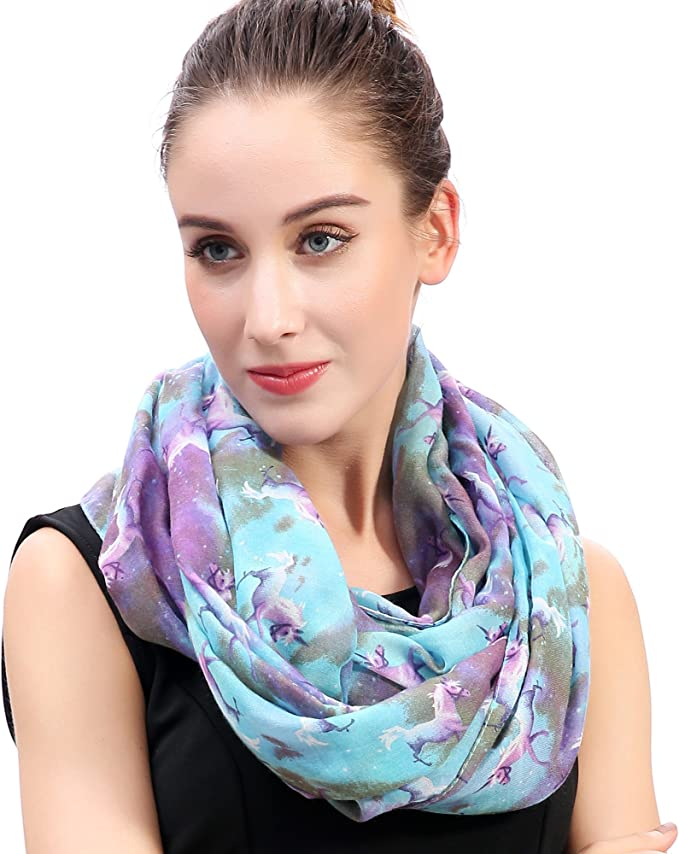 unicorn-print-scarf-for-cold