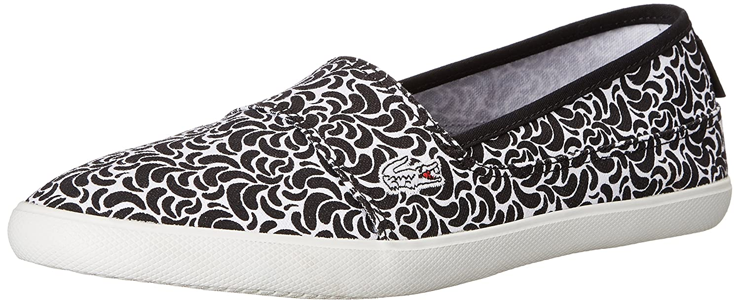 effcbaa4e03b0 Lacoste Women s Marice LMC Slip-On Black White 9.5 M  Buy Online at Low  Prices in India - Amazon.in