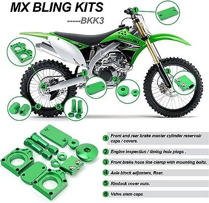 for Kawasaki KX250 2005 BLUE 2007 MotoSculpt Oil Fill Cap Plug 2006