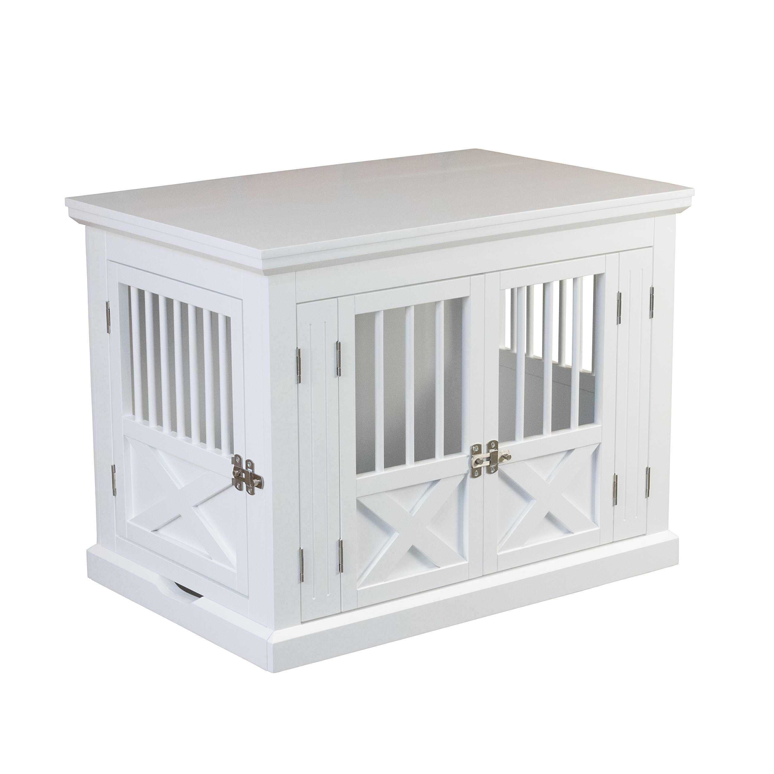 zoovilla Merry Products Triple Door Medium Dog Crate, Dog Kennel, Dog Cage by zoovilla