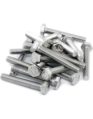 M10 Bullone Esagonale Set Vite completamente filettata acciaio zincato Grade 8.8 DIN933