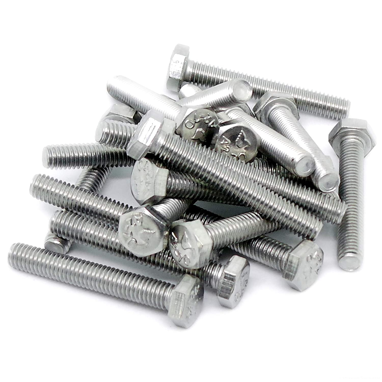 / M8/x 50/mm totalmente roscados A2 /acero inoxidable 8/mm Pack de 10 hexagonal tornillos