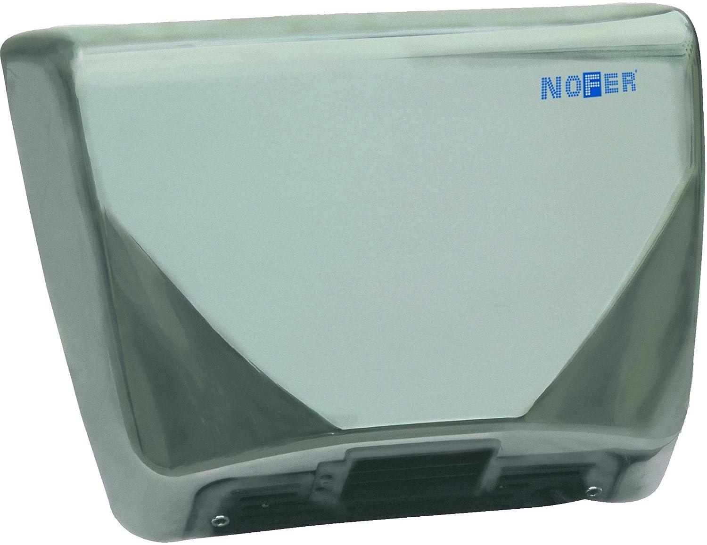 Nofer 01600.s Thin secador de Manos con Capot Inoxidable Satinado Plata 38,5 x 12,5 x 30 cm: Amazon.es: Hogar