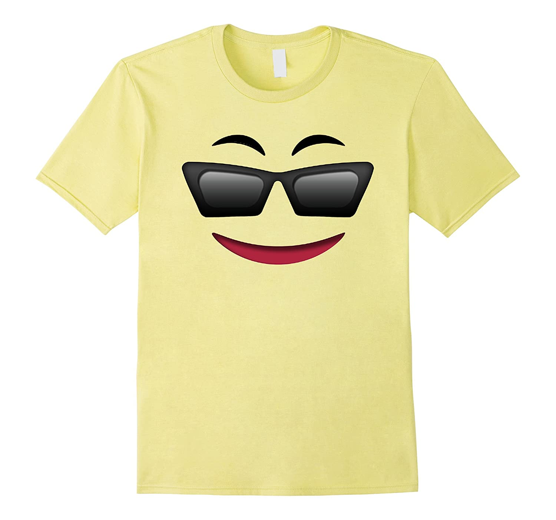 Halloween Emoji Face Theme Costume Mask Party Sunglasses-TJ