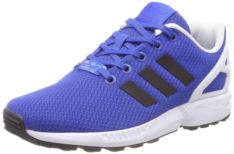 adidas Originals Boy's Zx Flux J Blue, Cblack and Ftwwht