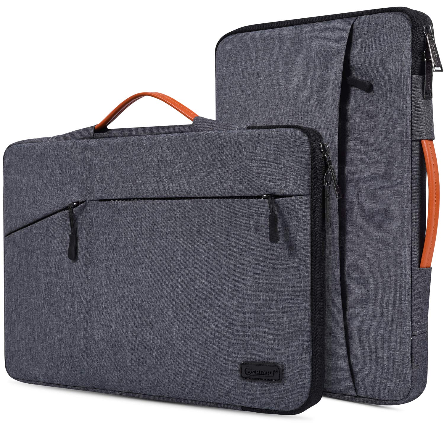 15.6 Inch Waterpoof Laptop Sleeve Case for Acer Aspire 5 A515/Aspire E 15/Chromebook 15, HP Envy x360/OMEN/Pavilion 15, MSI GV62, DELL, ASUS, 15.6'' Protective Notebook Briefcase Bag
