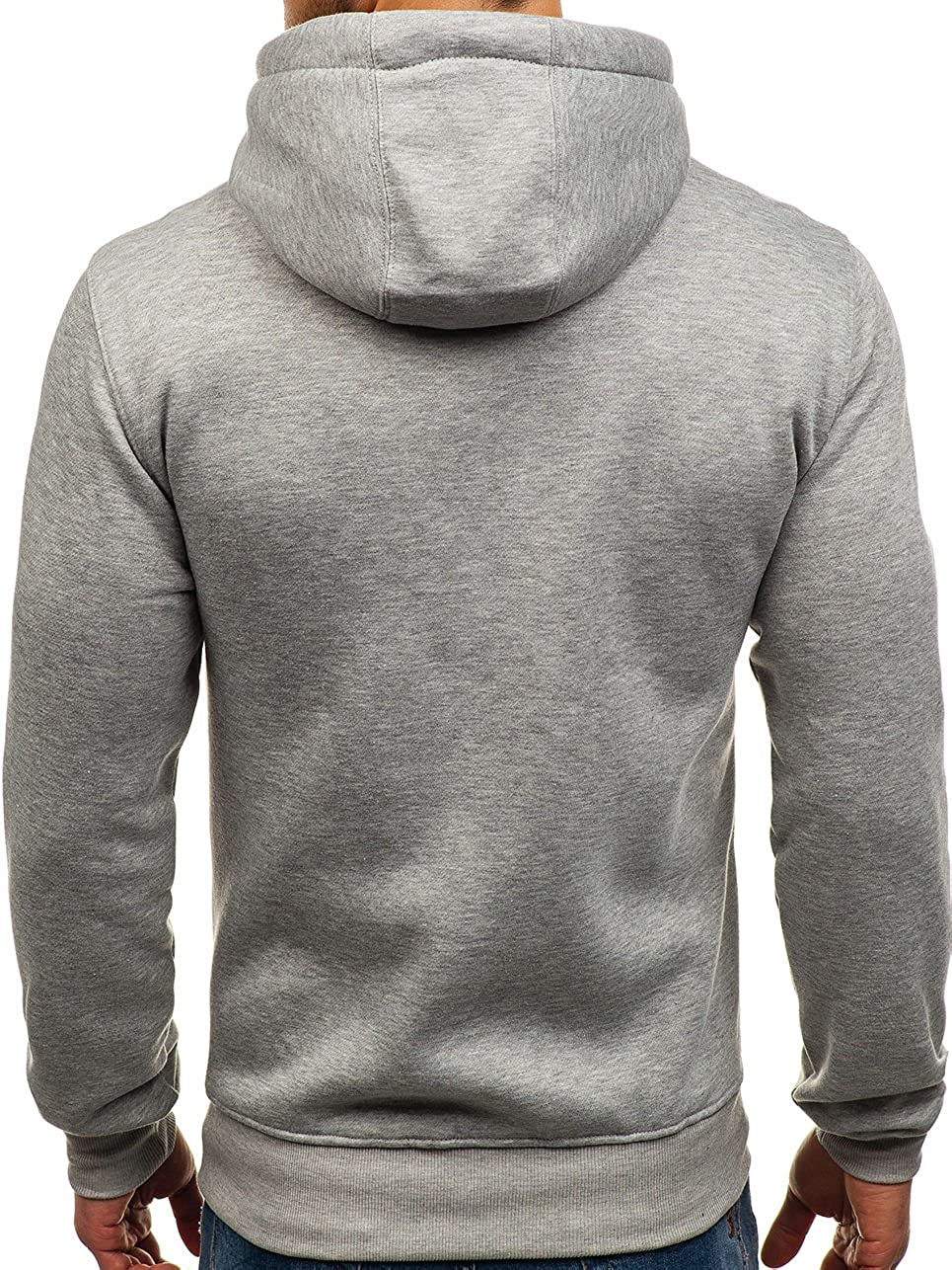 BOLF Herren Kapuzenpullover Sweatshirt Hoodie Basic Sport Style Mix 1A1