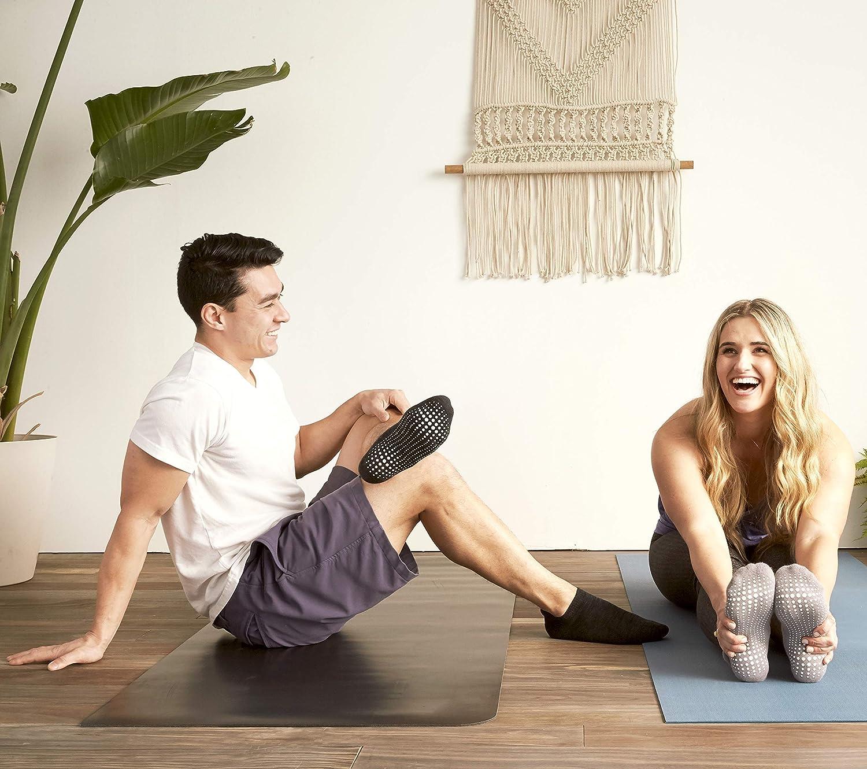 Per Yoga Pilates Danza Ballet Sbarra LA Active Calze Presa Antiscivolo Cotone