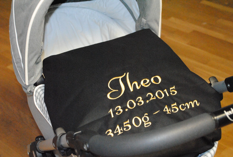 Kinderwagen Kissenbezug mit Namen 80x80cm grau B00VGT5GOO B00VGT5GOO B00VGT5GOO Kopfkissenbezüge d6e976