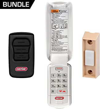 Safe /& Secure Access Compatible with All Genie Intellicode Garage Door Openers Genie Garage Door Opener Wireless Keyless Keypad Model GK-R 2 Pack Easy Entry into The Garage with a PIN