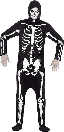 Smiffys Smiffys-25237M Miffy Disfraz de Esqueleto, con Traje ...