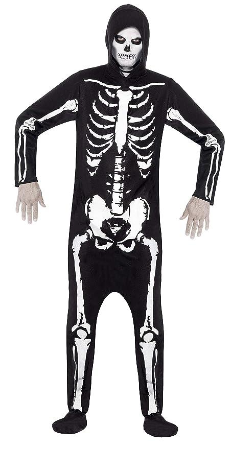 Smiffys Smiffys-25237M Miffy Disfraz de Esqueleto, con ...