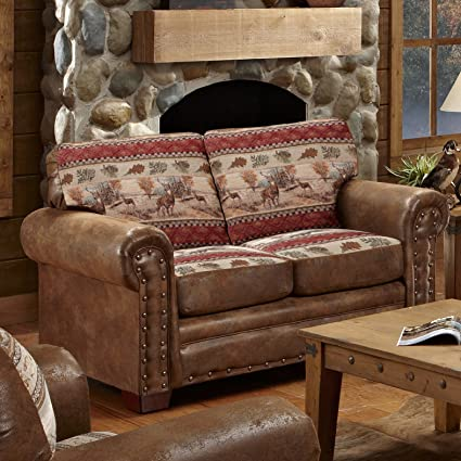 Amazon Com American Furniture Classics Deer Valley Love Seat