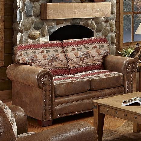 Outstanding American Furniture Classics Deer Valley Love Seat Short Links Chair Design For Home Short Linksinfo