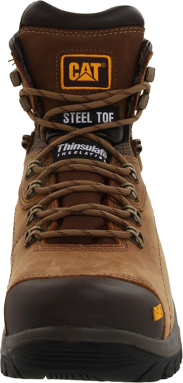 Caterpillar Mens Diagnostic Waterproof Steel-Toe Work Boot